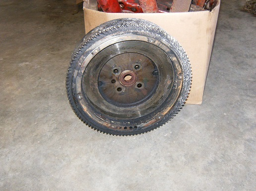 Farmall H Flywheel : Devon s tractor parts flywheel fits farmall h part dbx