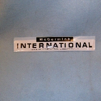 McCormick International Decal 13 1/2 Long