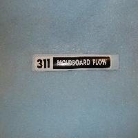 311 Moldboard Plow Decal