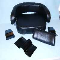 Seat Assy, Black Vinyl