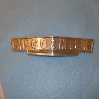 Front Grill Emblem Fits: 1947 And Above W4, W6