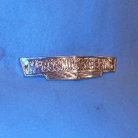Front Grill Emblem Fits: 1939-1947 W4, W6