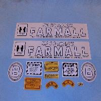 Decals Fit: Farmall B