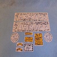 Decals Fits: Farmall McCormick Deering 1948-1949