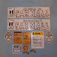 Decals Fits: Farmall   A   Culti-vision