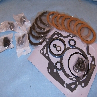 PTO Clutch Kit Includes, Clutches, Floaters, Brake Floaters Assy,