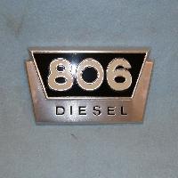 806 Diesel Emblem
