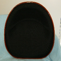 Black Canvas 4 Bolt Seat