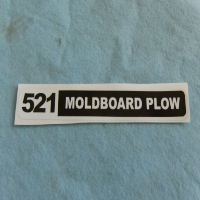 521 Plow Decal