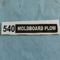 540 Plow Decal