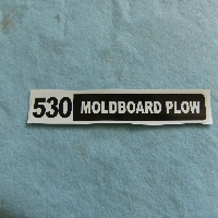 530 Plow Decal