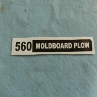 560 Plow Decal