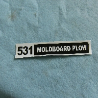 531 Plow Decal