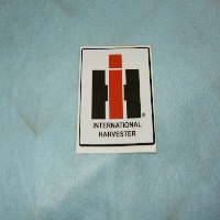 IH Decal Fits; Plows 3 X 3 1/4